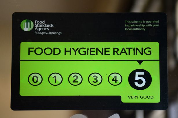 The Latest Food Hygiene Rating is 5 Stars for the Nottinghamshire Golf & Country Club